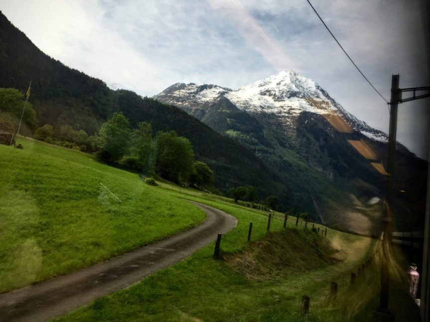 Timothy Pate Swiss Alps