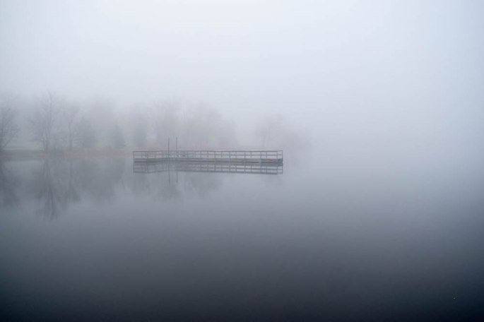 Timothy Pate Foggy Minneapolis